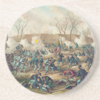 American Civil War Battle of Fort Donelson 1862 Coaster