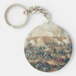 American Civil War Battle of Fort Donelson 1862 Keychain