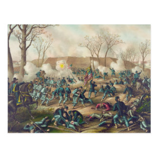 American Civil War Battle of Fort Donelson 1862 Postcard