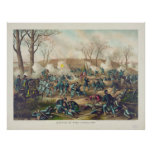 American Civil War Battle of Fort Donelson 1862 Print