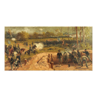 American Civil War Battle of Kennesaw Mountain Card
