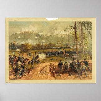 American Civil War Battle of Kennesaw Mountain Poster