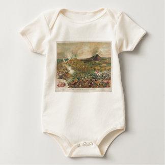 American Civil War Battle of Missionary Ridge Baby Bodysuit