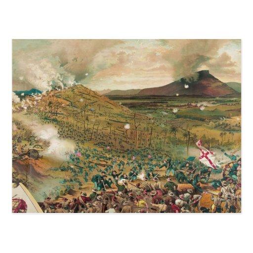 American Civil War Battle of Missionary Ridge Postcard