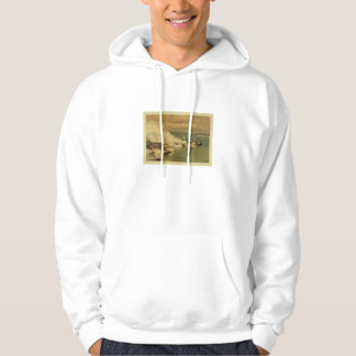 American Civil War Battle of Mobile Bay by L Prang Hoodie