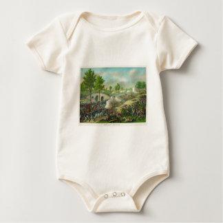 American Civil War Battle of the Potomac Baby Bodysuit