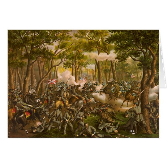 American Civil War Battle of the Wilderness Card