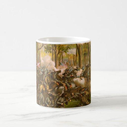 American Civil War Battle of the Wilderness Coffee Mugs