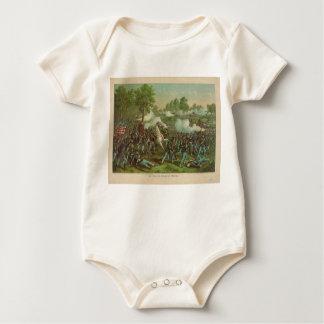 American Civil War Battle of Wilson's Creek 1861 Baby Bodysuit