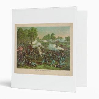 American Civil War Battle of Wilson's Creek 1861 Binder