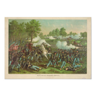 American Civil War Battle of Wilson's Creek 1861 Card