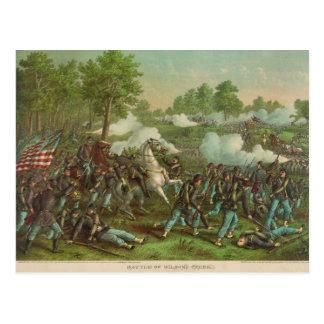 American Civil War Battle of Wilson's Creek 1861 Postcard
