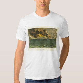 American Civil War Bombardment of Fort Sumter 1861 Tee Shirts