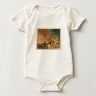 American Civil War Capture of New Orleans Baby Bodysuit
