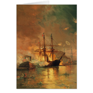 American Civil War Capture of New Orleans Card