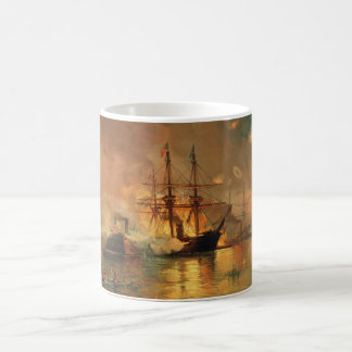American Civil War Capture of New Orleans Classic White Coffee Mug