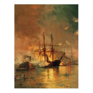 American Civil War Capture of New Orleans Postcard