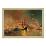 American Civil War Capture of New Orleans Poster
