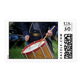 American Civil War Drummer Postage
