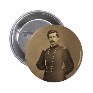 American Civil War General George B McClellan Button
