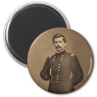 American Civil War General George B McClellan Magnet