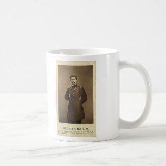 American Civil War General George B McClellan Coffee Mugs