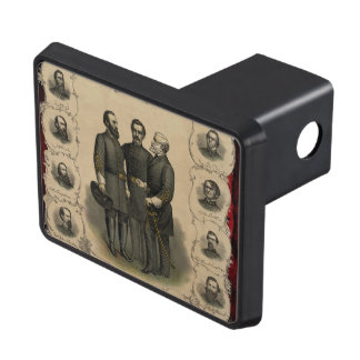 American Civil War Heroes USA Hitch Cover