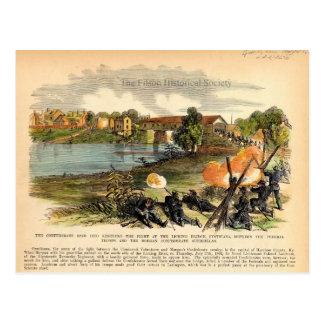 American Civil War Morgan s Raid into Kentucky Post Card