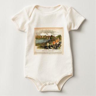American Civil War Morgan's Raid into Kentucky Baby Bodysuit
