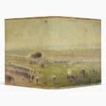 American Civil War Picketts Charge by Edwin Forbes Vinyl Binder
