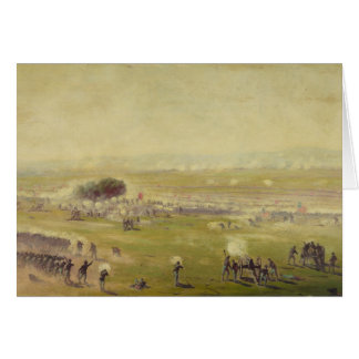American Civil War Picketts Charge by Edwin Forbes Card