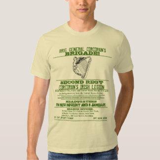 American Civil War Recruiting Poster Tee Shirt