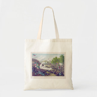 American Civil War Second Battle of Corinth 1862 Tote Bag