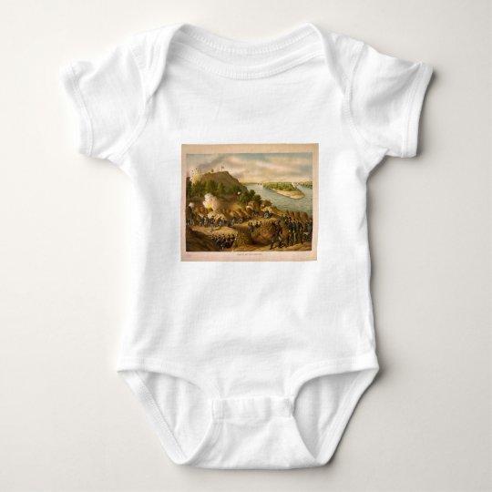 American Civil War Siege of Vicksburg in 1863 Baby Bodysuit