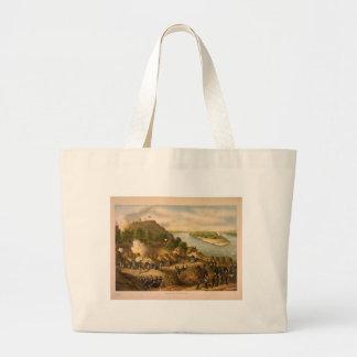 American Civil War Siege of Vicksburg in 1863 Tote Bags