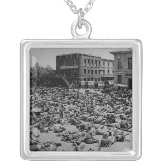 American Civil War Silver Plated Necklace