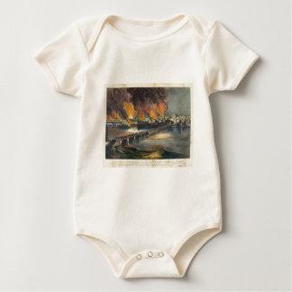 American Civil War The Fall of Richmond April 1865 Baby Bodysuit