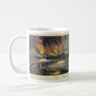 American Civil War The Fall of Richmond April 1865 Coffee Mug
