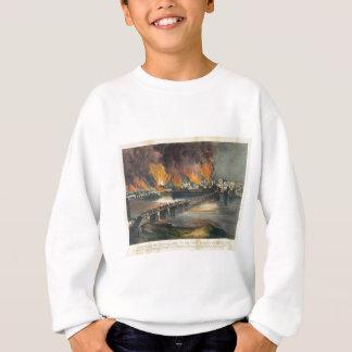 American Civil War The Fall of Richmond April 1865 Sweatshirt