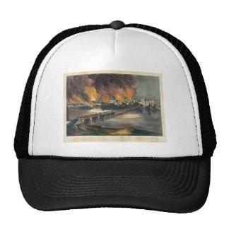 American Civil War The Fall of Richmond April 1865 Trucker Hat
