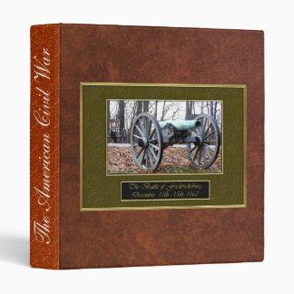 American Civil War Vinyl Binder
