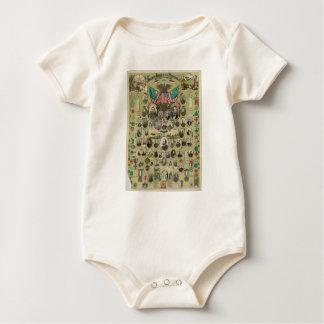 American Civil War's Grand Army of the Republic Baby Bodysuit