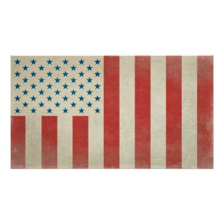American Civilian Flag of Peace Print