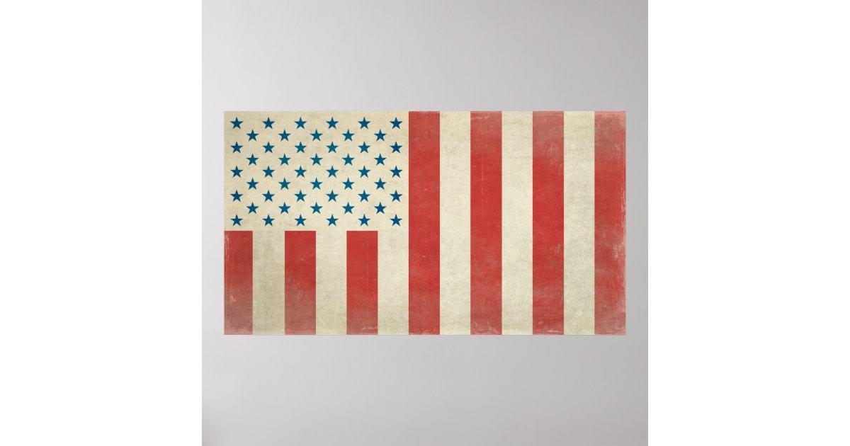 American Civilian Flag Of Peace Print Zazzle Com