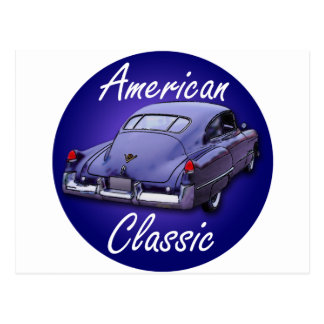 American Classic 1949 Cadillac Postcard