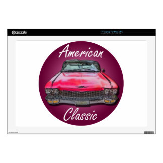 "American Classic 1960 Cadillac 17"" Laptop Skins"
