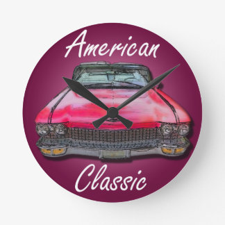 American Classic 1960 Cadillac Round Clock