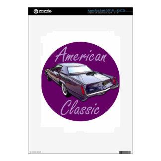American Classic 1967 Cadillac Eldorado iPad 3 Decals