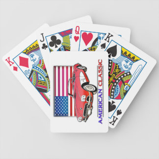 American Classic 50s Muscle Car Playing Cards