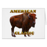 American Classic Buffalo by Fractal Tees(TM) Greeting Cards